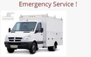 HVAC Emergency Service Van