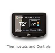 Modern A C Thermostat